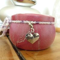 Step Mum Scented Candle Tin in Pretty Pink