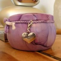 Godmother Scented Candle Tin in Purple