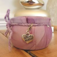 Grandmother Scented Candle Tin in Purple