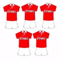 Rugby Card Making Toppers - Welsh Cymru Team.