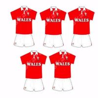 Rugby Card Making Toppers - Welsh Wales Team.