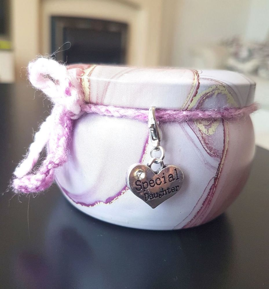 Daughter Scented Candle Tin in Lilac