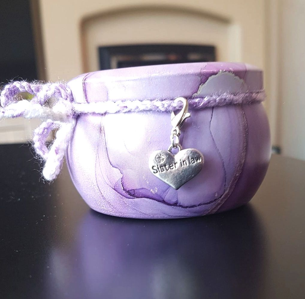 Sister in Law Scented Candle Tin in Lilac