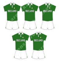 Ireland Rugby Card Making Toppers - Irish Team.