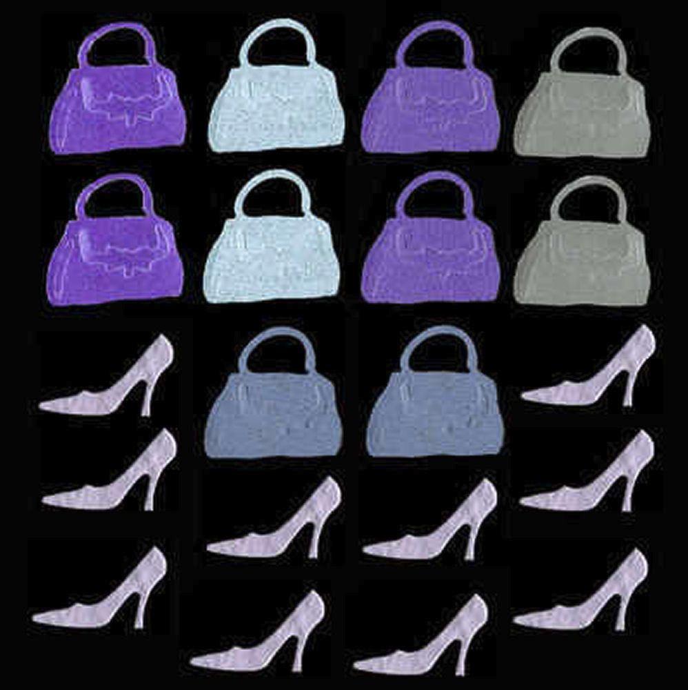 Handbag, Heels and Dresses Craft Shapes