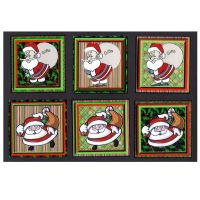 Christmas Santa Card Making Toppers