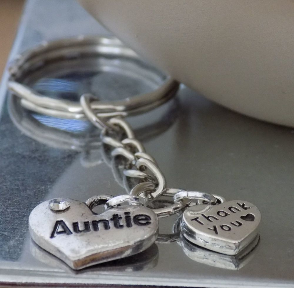 Auntie Thank You Keyring