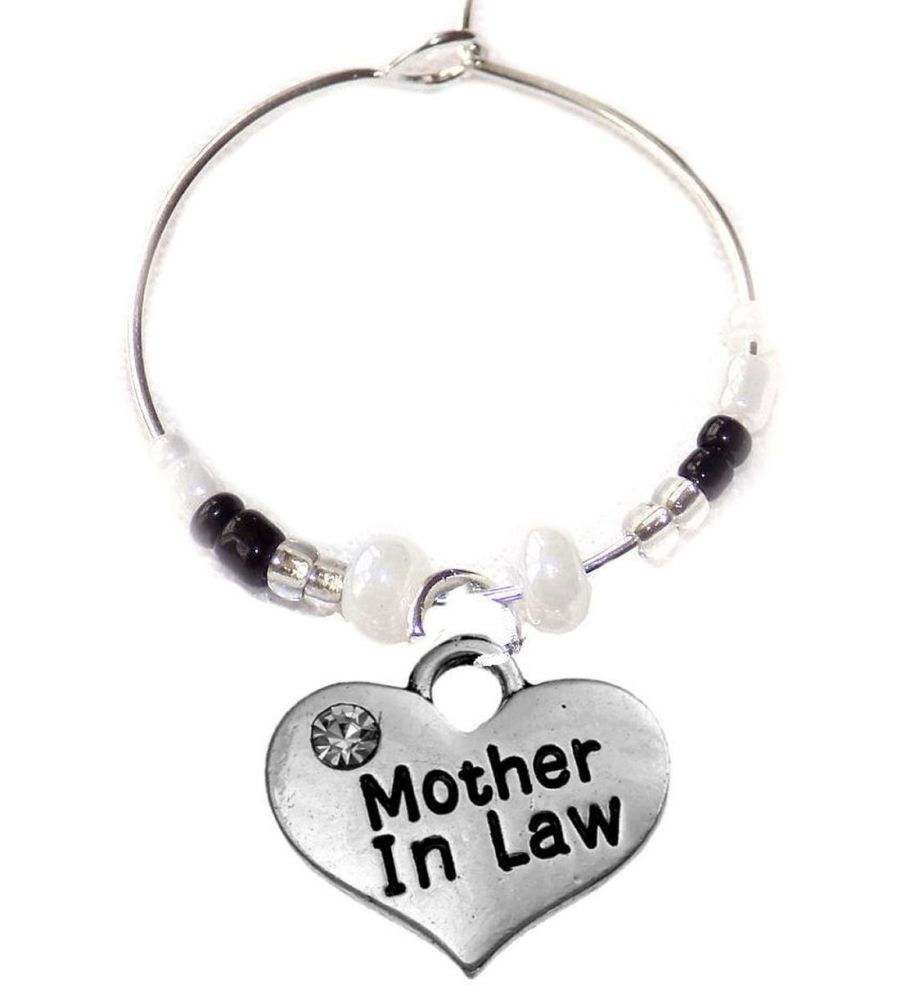 Mother in Law Wine Glass Charm