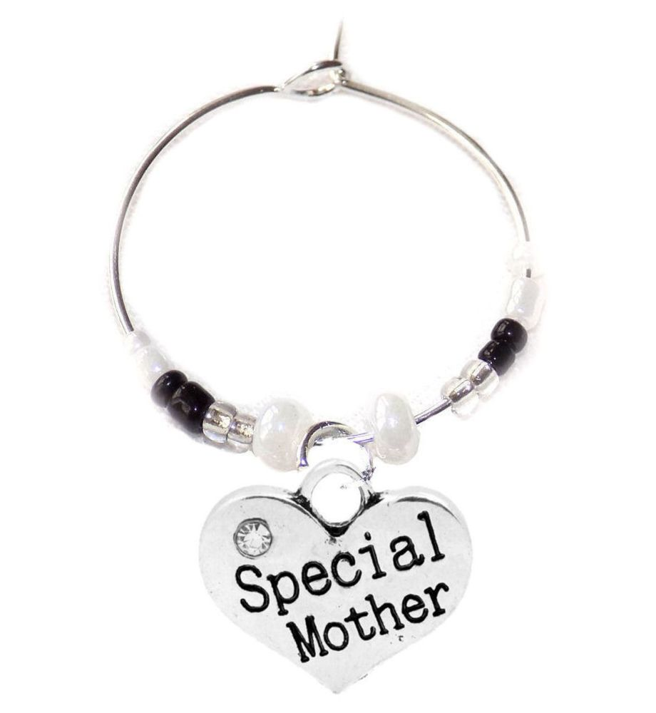 Special Mother Wine Glass Charm