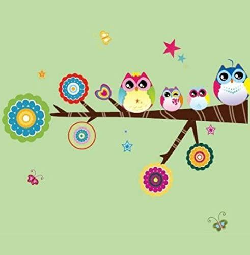 Wall Art Stickers - Baby Owl