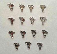 Baby Feet Rhinestone Crystal Craft Embellishments