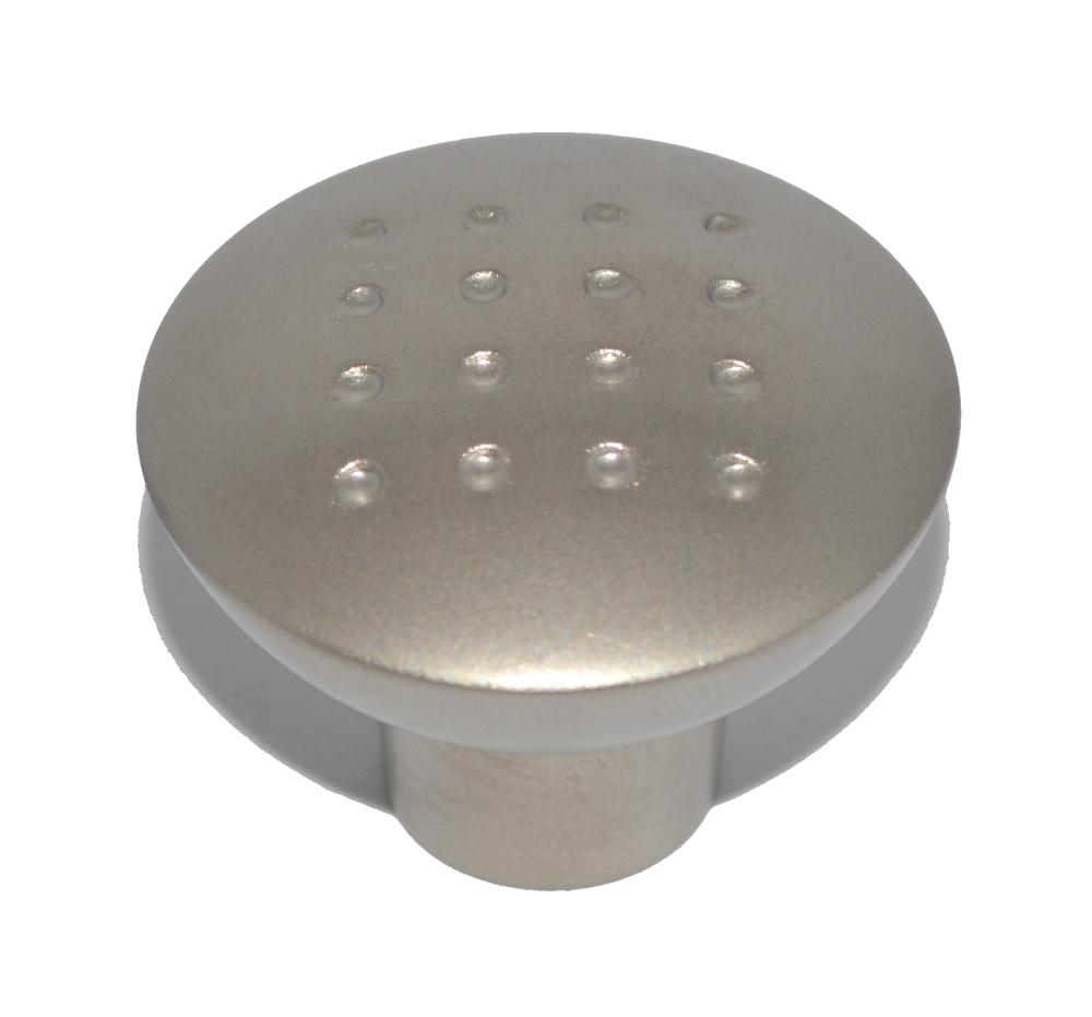 Matte Nickel-Plated Drawer Knob - 33mm