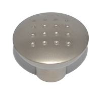 Matte Nickel-Plated Drawer Knob - 33mm