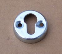 Keyhole-Style Zinc-Plated Mirror Bracket
