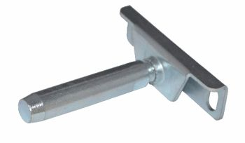 Steel Concealed Shelf Support Bracket w/ Mounting Plate - 72mm