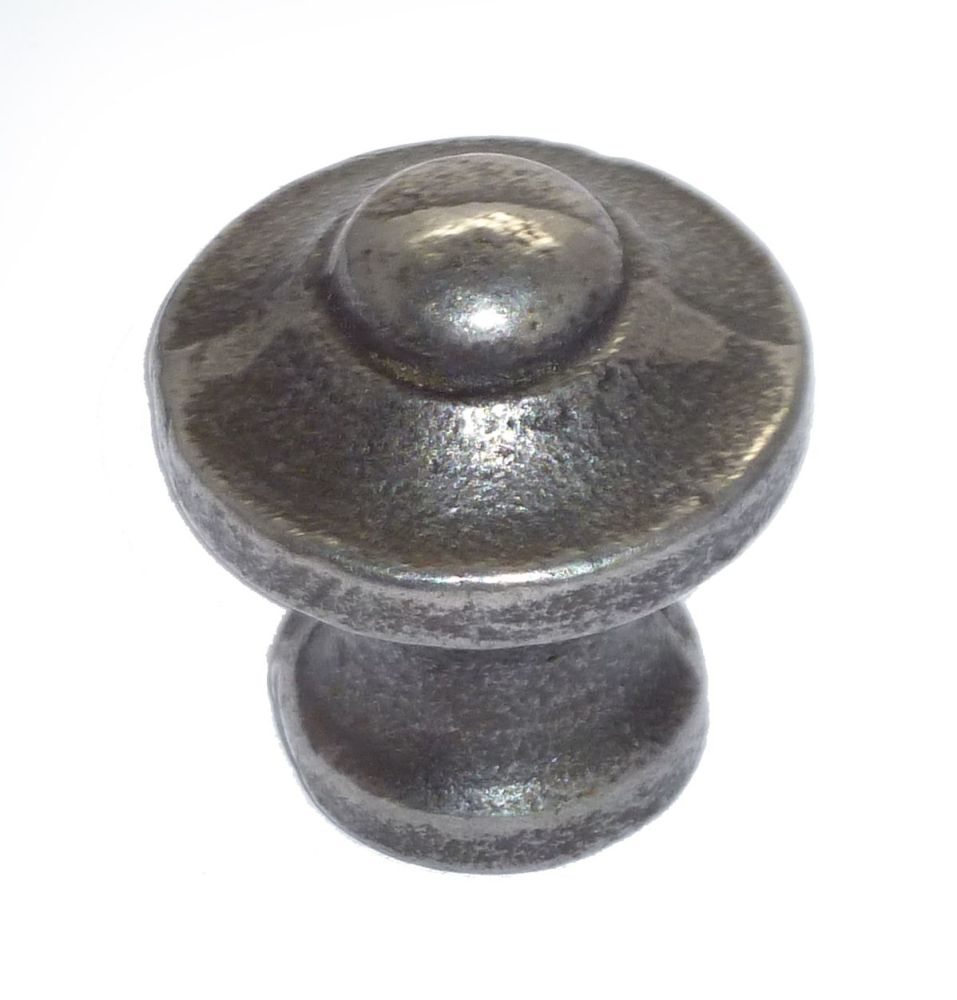 Domed Knob - 25mm Diameter Cast Iron A/I