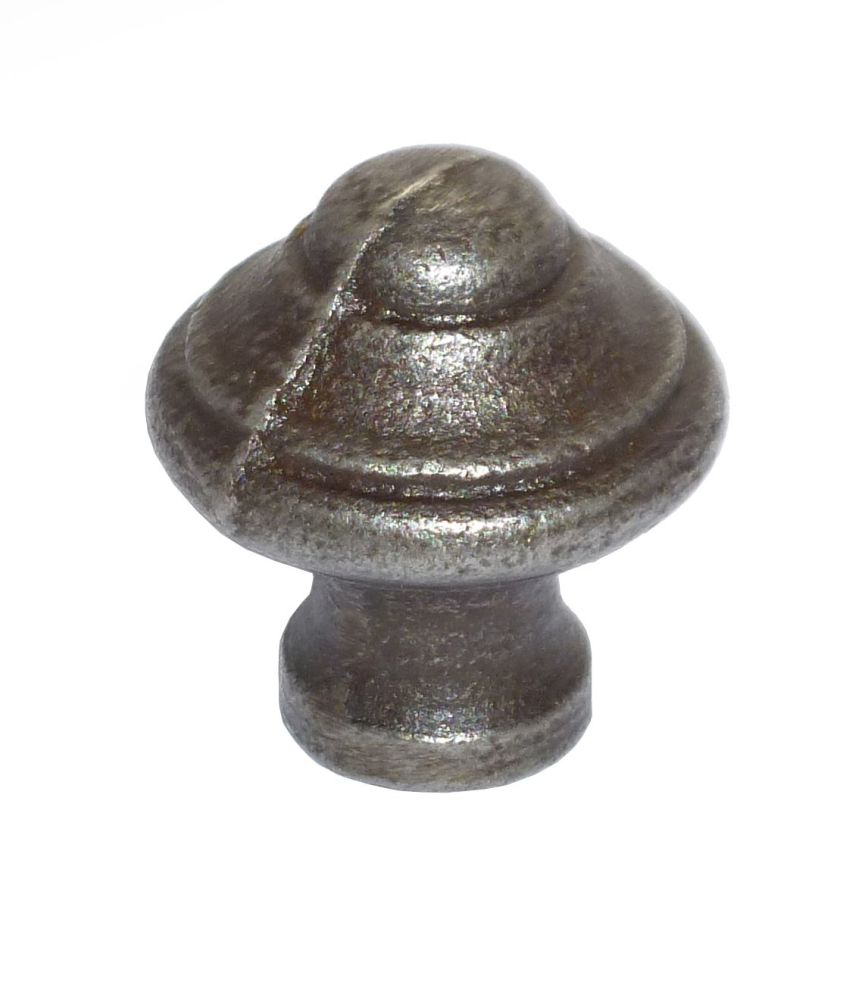 Domed Knob - 20mm Diameter Cast Iron A/I