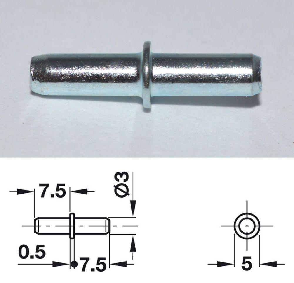 Galvanised Shelf Stud w/ Collar - 3mm