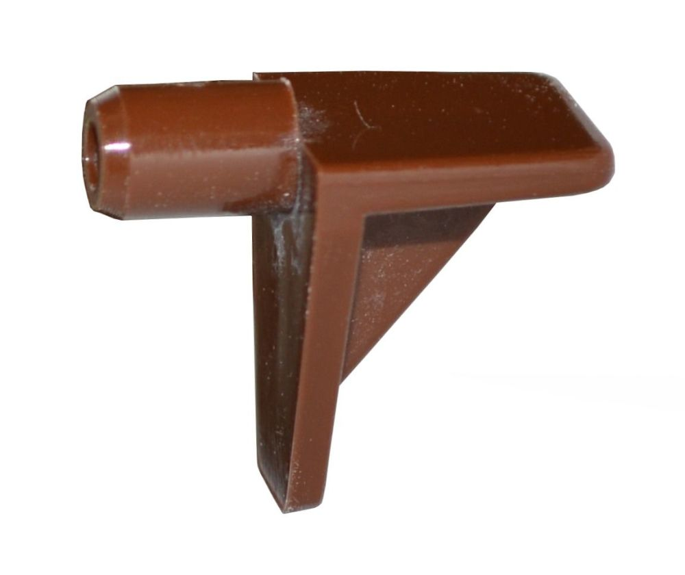 Plastic Shelf Stud (Brown) - 5mm - Pack of 20