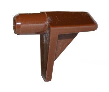 Plastic Shelf Stud (Brown) - 5mm - Pack of 20