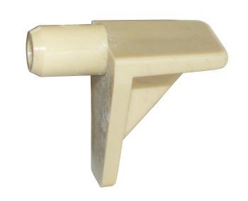Plastic Shelf Stud (Beige) - 5mm - Pack of 20