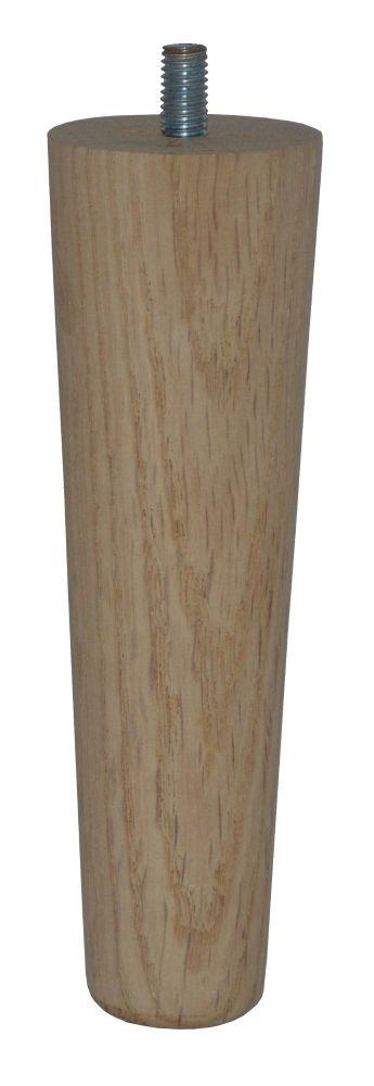 150mm Oak Tapered Leg
