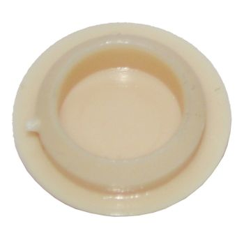 Slim Beige Plastic 10mm Cover Cap  - Pack of 50