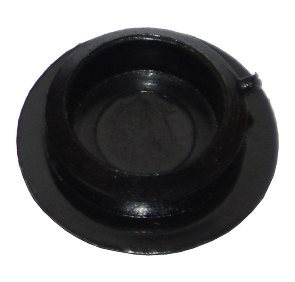 Plastic Screw Cover Caps (Black) 10mm Width - Pack of 50