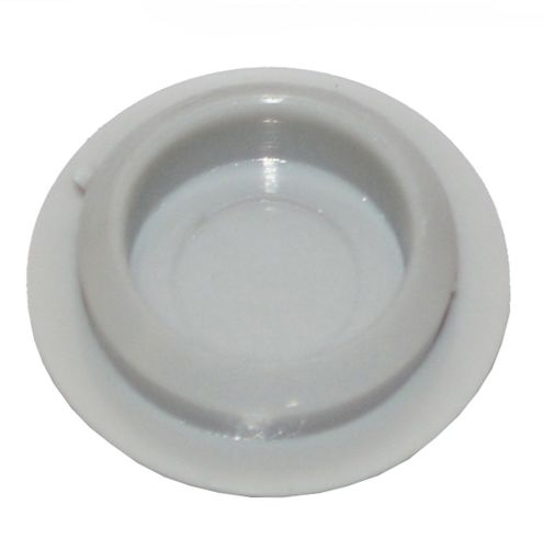Plastic Screw Cover Caps (Grey) 10mm Width - Pack of 50