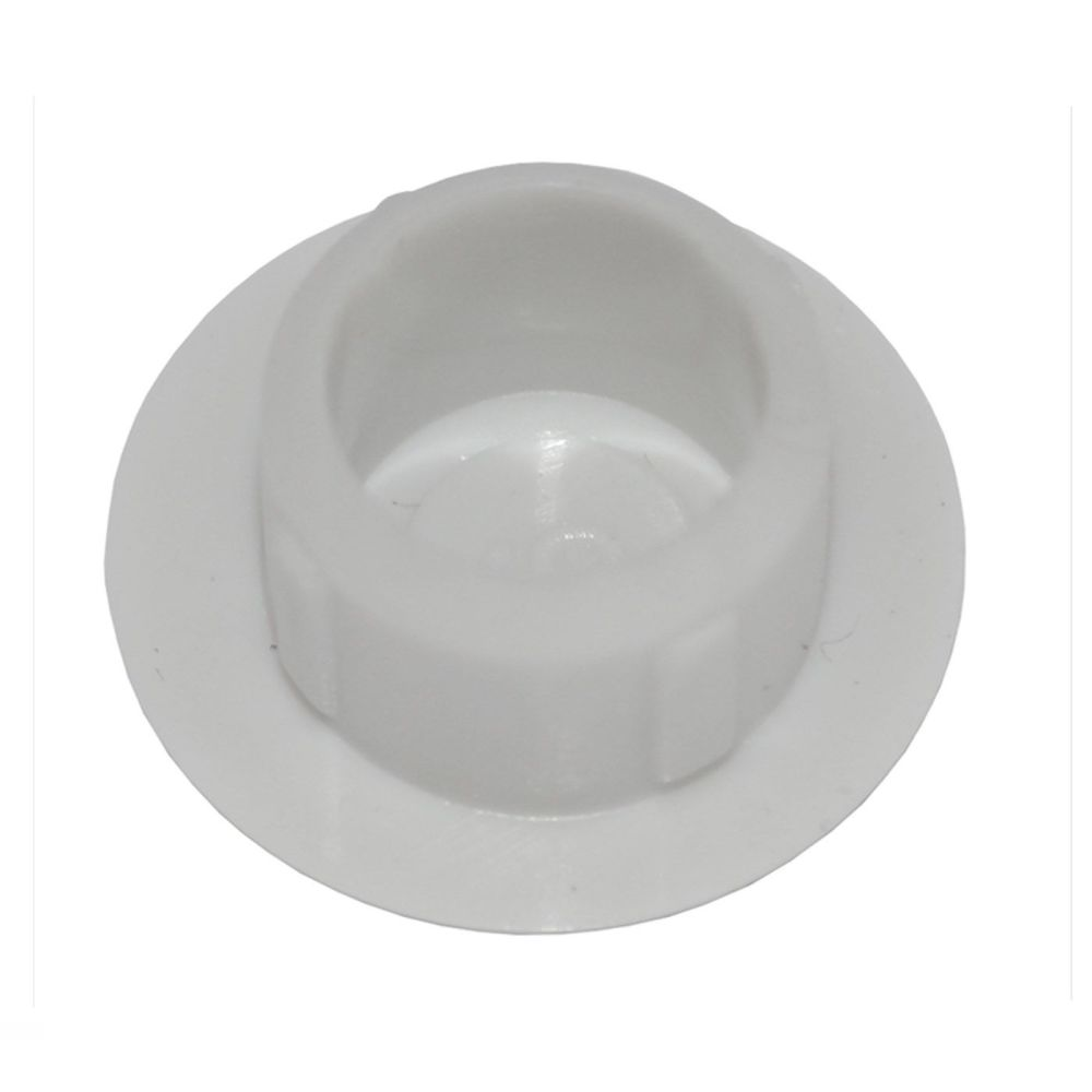Large Grey Plastic 10mm Cover Cap  - Pack of 50