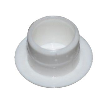 White Plastic 12mm Cover Cap  - Pack of 20