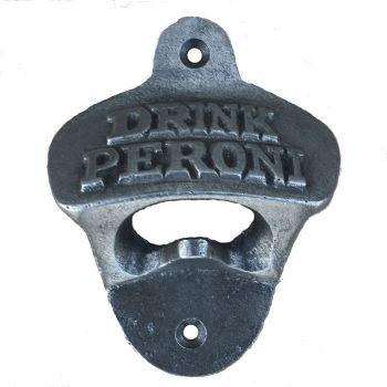 Drink Peroni Wall-Mounted Bottle Opener
