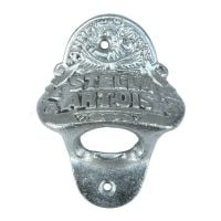Stella Artois Wall-Mounted Bottle Opener (Chrome)