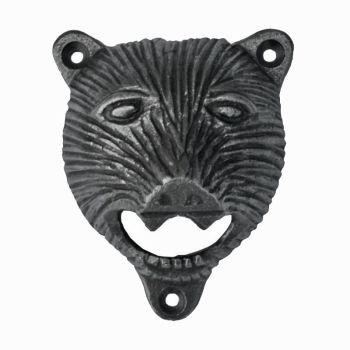 Bear Head-Style Wall-Mounted Bottle Opener