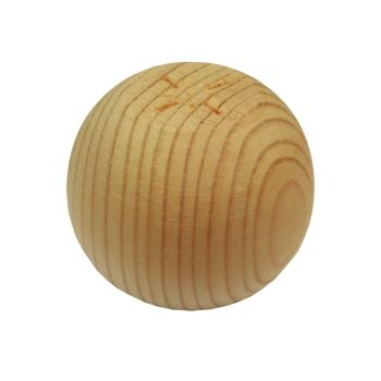 Pine Plain Bun Foot - 66*56mm
