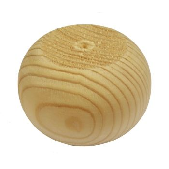 Pine Plain Bun Foot - 83*56mm