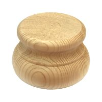 Pine Moulded Bun Foot - 83*56mm