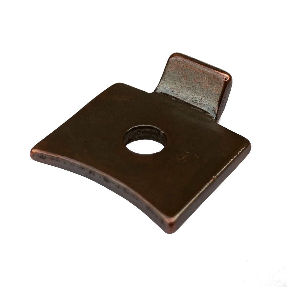 Florentine Bronze Slotted Strip Support for Level Strips - Pack of 4