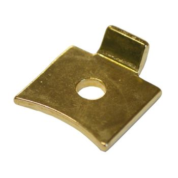 Electro-Brass Slotted Strip Support for Level Strips - Pack of 4