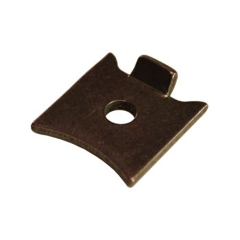 Florentine Bronze Slotted Strip Support for Raised Strips - Pack of 4