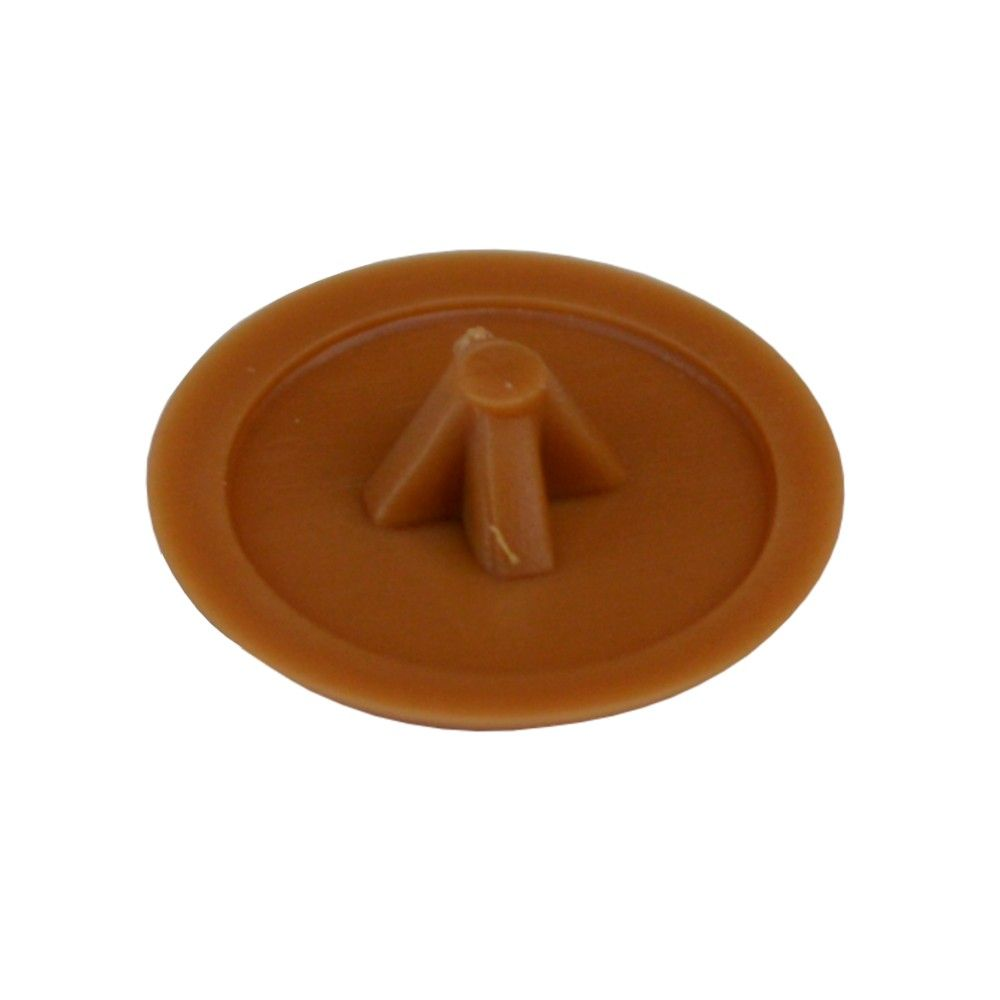 Pozi Screw Covers (Brown) - Pack of 50