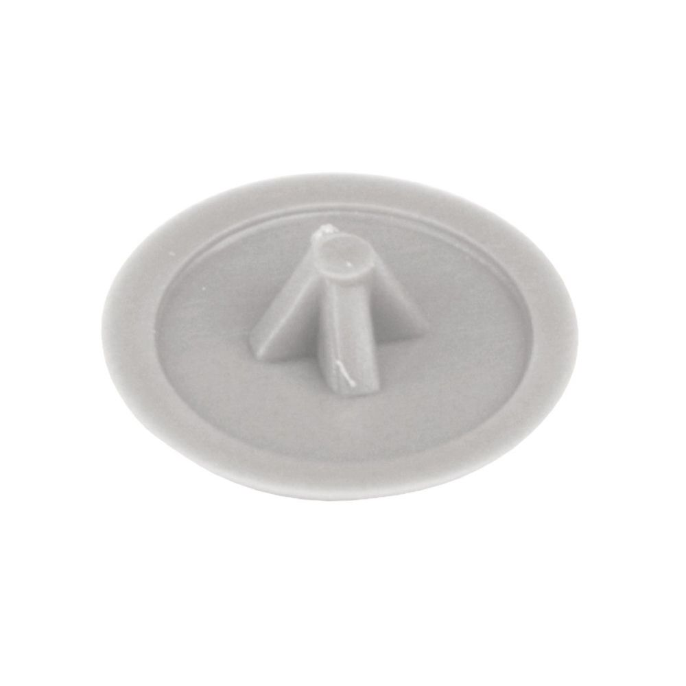 Pozi Screw Covers (Grey) - Pack of 50