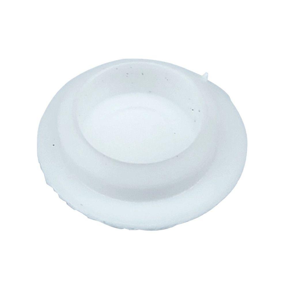 Sim White Plastic 10mm Cover Cap  - Pack of 7