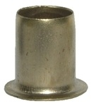 Electro-Brass Socket - 7mm - Pack of 16