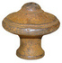 Rustic Domed Knob - 35mm Cast Iron