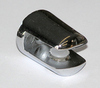 Small Polished Chrome Bracket - For up to 6mm Shelves
