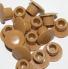 5mm Blanking Caps (Beech) - Pack of 100
