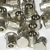 5mm Blanking Caps (Nickel-Plated) - Pack of 100