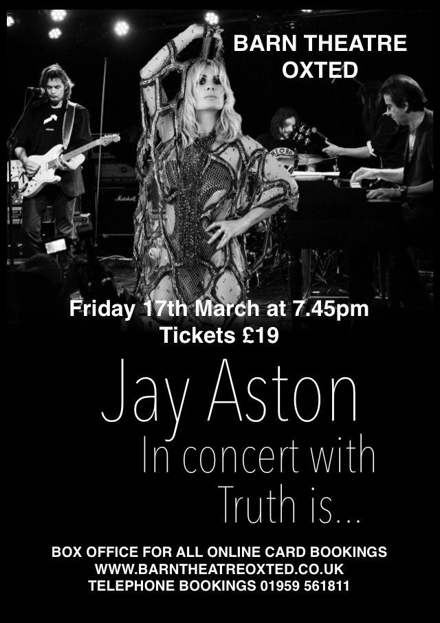 jay aston barn theatre flyer