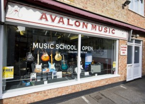 shopfrontfull AVALON MUSIC